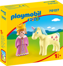 Playmobil für Mädchen - Playmobil 1.2.3. - Prinzessin mit Einhorn