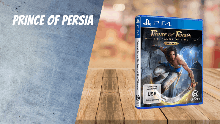 Prince of Persia (2008) - PS4 Spiele wie Uncharted