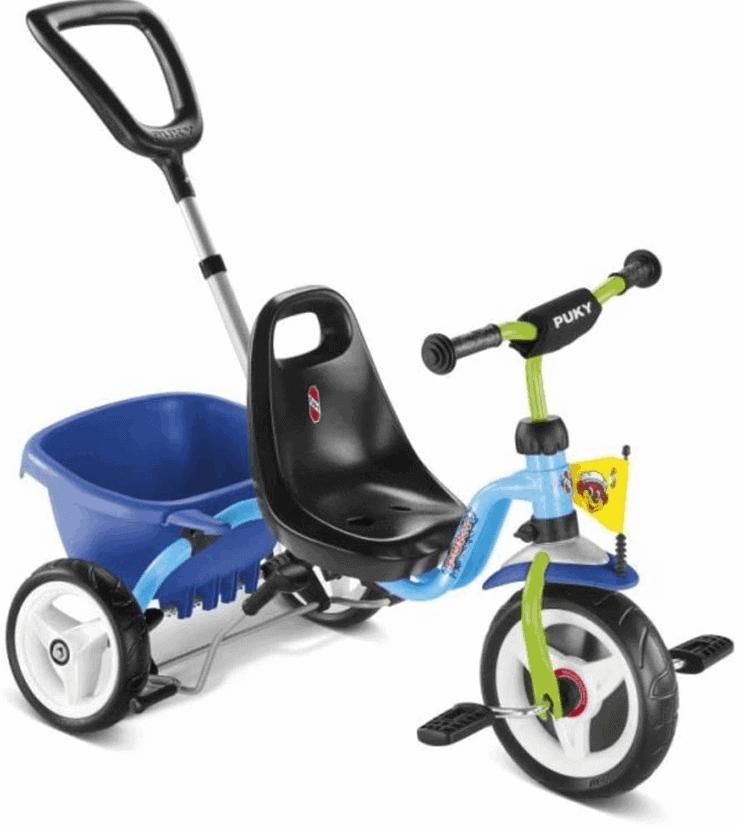 Puky Dreirad mit Stange und Gurt