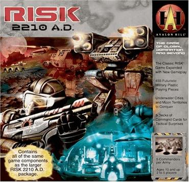 RISIKO 2210 A.D. Spiel