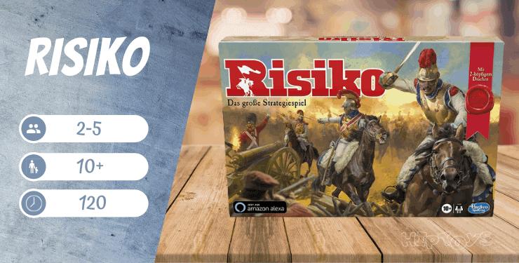 Risiko-Brettspiel-Empfehlung