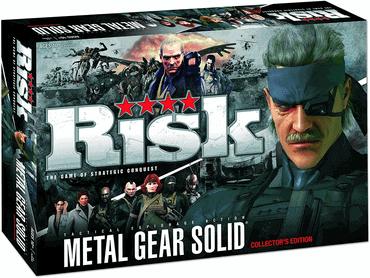 Risiko Brettspiel Metal Gear Spiel