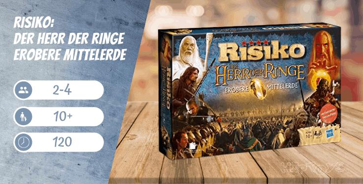 Risiko Der Herr der Ringe - Erobere Mittelerde - Spiel-Empfehlung
