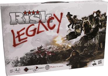 Risiko Legacy Spiel
