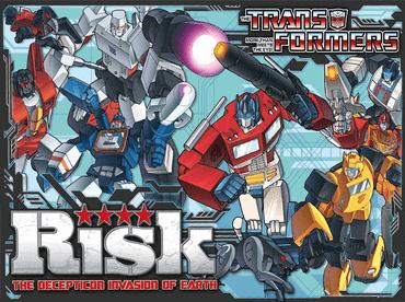 Risiko Transformers Die Invasion der Decepticons