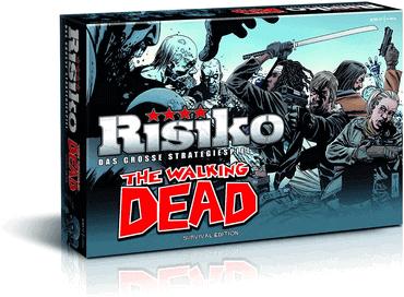 RisikoThe Walking Dead Spiel