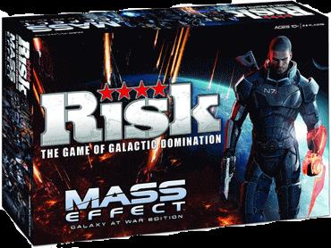 Risk Mass Effect Galaxy at War Edition