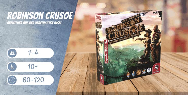 Robinson Crusoe Abenteuer auf der verfluchten Insel Brettspiel