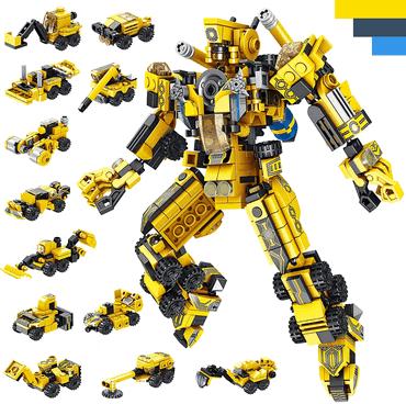 Roboter Bausteine Spielzeug für Jungen