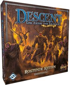 Rostende Ketten Erweiterung - Descent: Die Reise ins Dunkel (2. Edition)