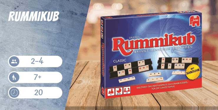 Rummikub Classic Spiel-Empfehlung
