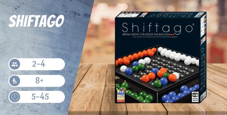 SHIFTAGO Kinderspiel ab 8 Jahren