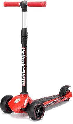 STAR-SCOOTER Cityscooter Dreiradscooter klappbar mit extra dicken Rädern ab 4 - 5 Jahre