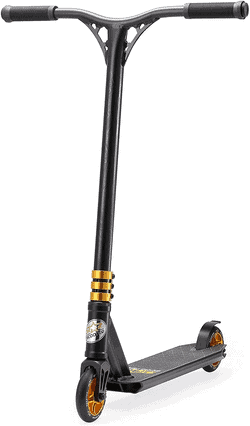 STAR-SCOOTER Freestyle Alu Jump Stuntscooter ab 7 - 8 Jahre  110mm Semi Professional