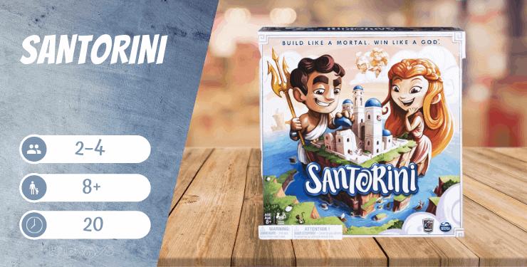Santorini Spiel