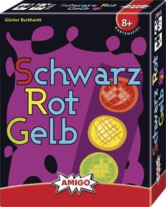 Schwarz Rot Gelb - Kartenspiel
