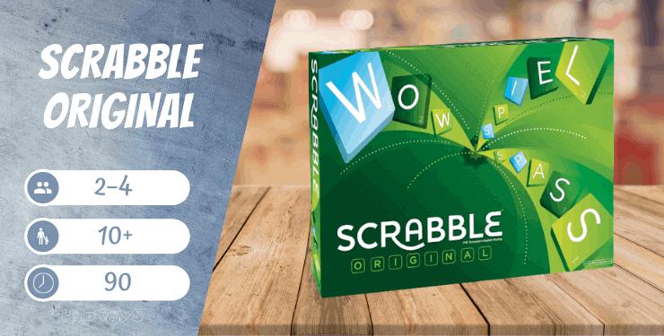 Scrabble Original Wörterspiel