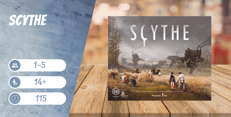 Scythe Spiel-Empfehlung