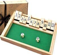 Holzspiele für Erwachsene - Shut The Box Spiel
