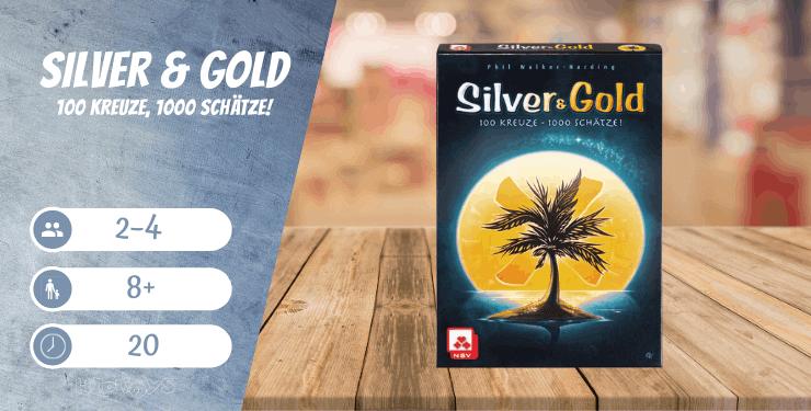 Silver & Gold - 100 Kreuze, 1000 Schätze!