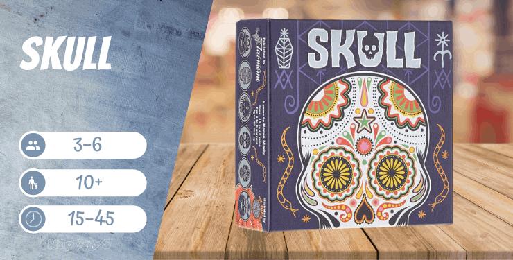 Skull Kartenspiel