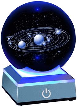 Sonnensystem Kristallkugel