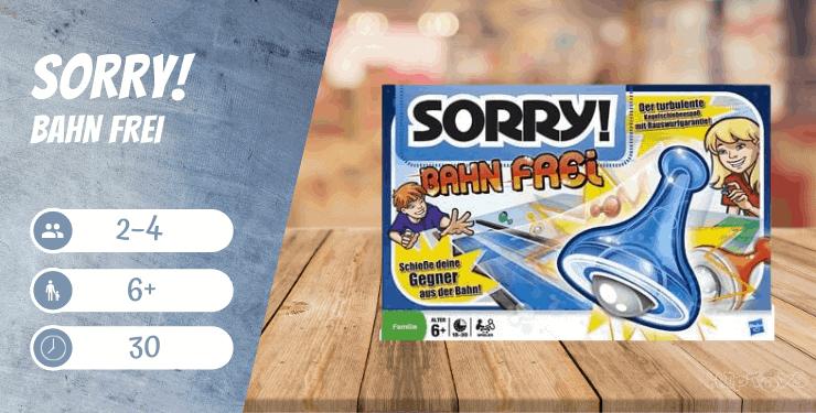 Sorry! Bahn frei Spiel-Empfehlung
