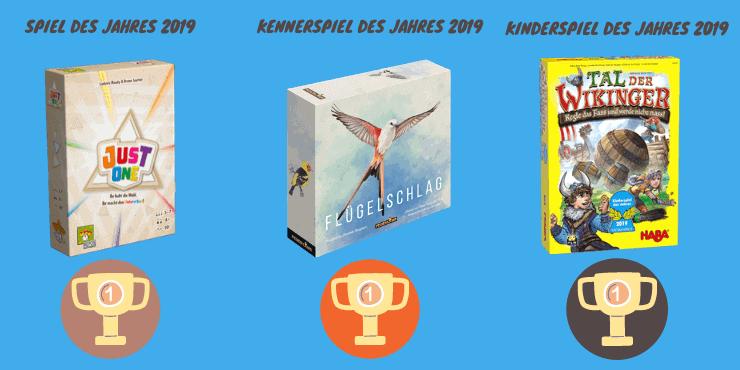 Spiel des Jahres 2019 Gewinner