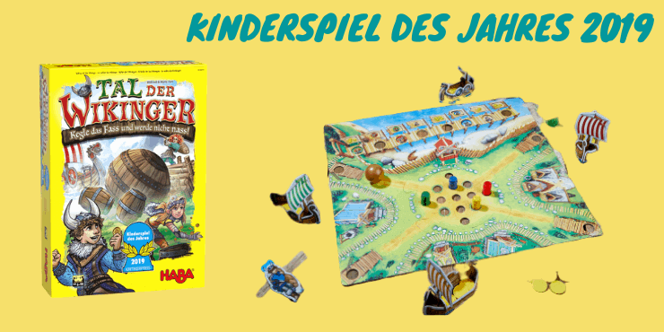 Spiel des Jahres 2019 Kinder - Tal der Wikinger
