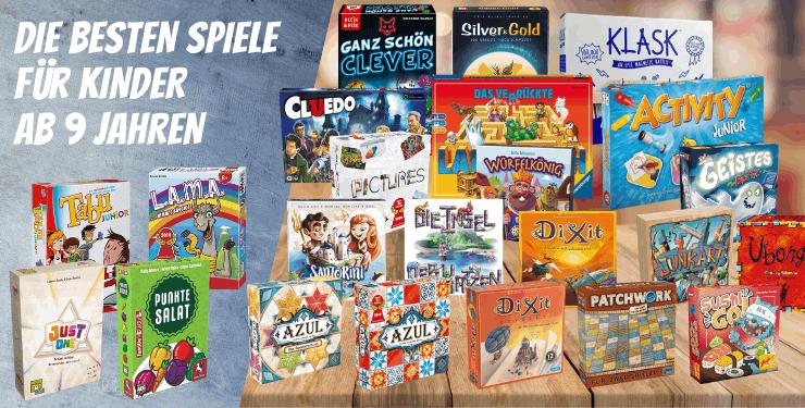 Spiele ab 9 Jahren Die BESTEN Kinderspiele für 9-jährige (2021)