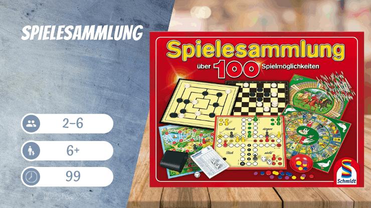 Spielesammlung von Schmidt Spiele - Brettspiele