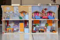 Spielhaus zur Aufbewahrung für Unterwegs