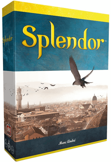 Splendor - Brettspiel wie Flügelschlag