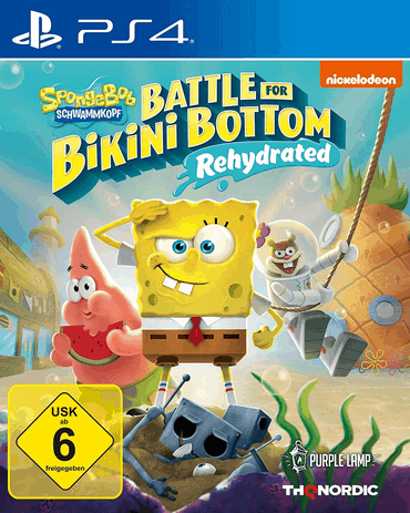 Spongebob Schwammkopf Battle for Bikini Bottom - Rehydrated