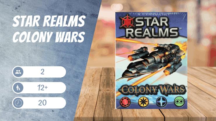 Star Realms Colony Wars Spiel