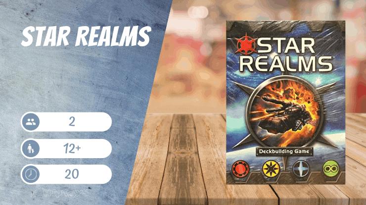 Star Realms Deckbuilding Spiel