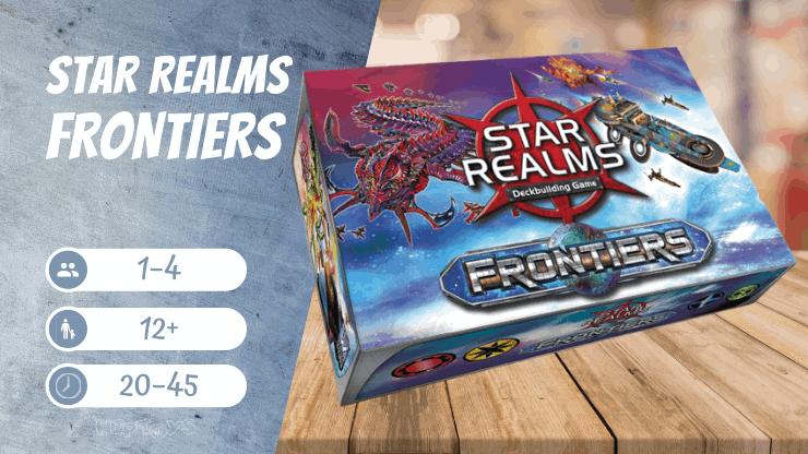 Star Realms Frontiers Spiel