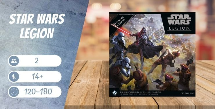 Star Wars Legion Brettspiel