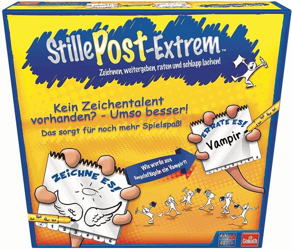 Stille Post Extrem-Zeichnen