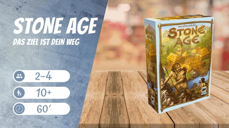 Stone Age - Das Ziel ist dein Weg Brettspiel