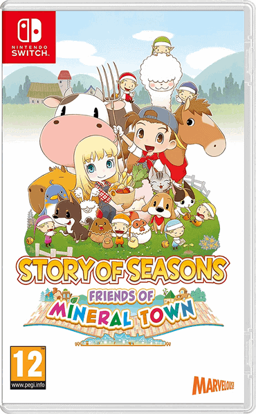 Story of Seasons - Friends of Mineral Town Spiel