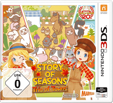 Story of Seasons - Trio of Towns Spiel
