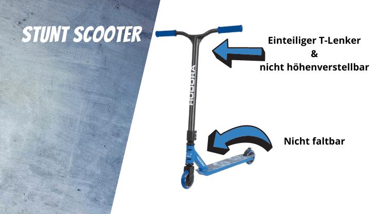 Was ist der Unterschied zwischen Stunt Scooter und Roller? - Stunt Scooter