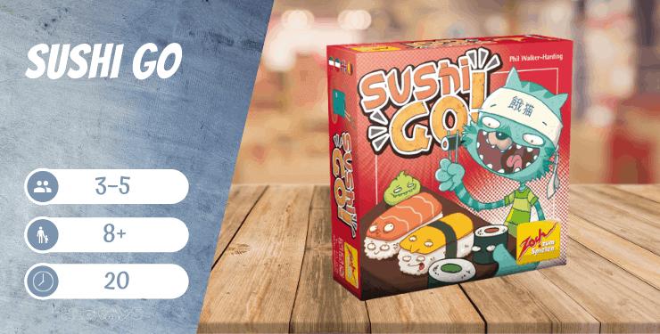Sushi Go Kartenspiel