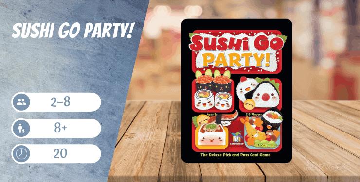 Sushi Go Party! Spiel