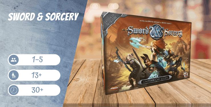Sword & Sorcery Fantasy Brettspiel für 1 Spieler - Descent Alternative
