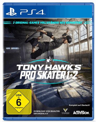TONY HAWK´S Pro Skater 1+2 Standard Edition ab 6 Jahre