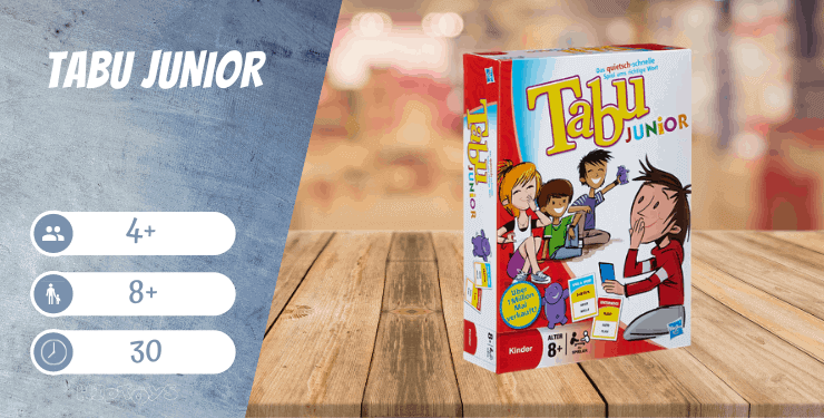 Tabu Junior Brettspiel
