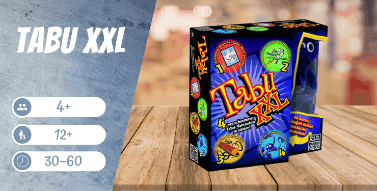 Tabu XXL Spiel für Erwachsene