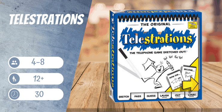 Telestrations Spiel-Empfehlung